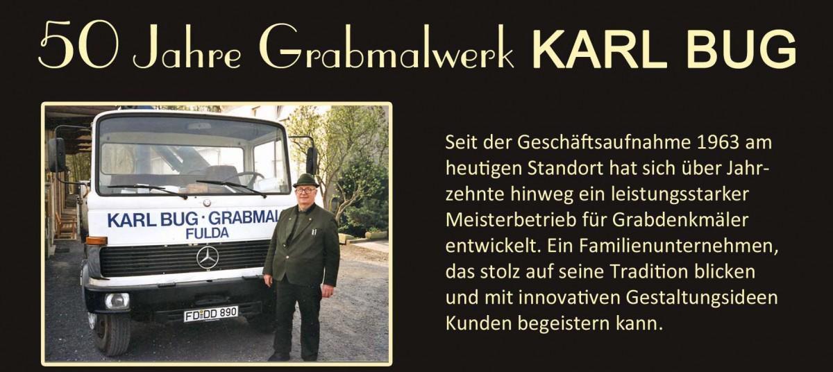 Karl Bug_sen historie